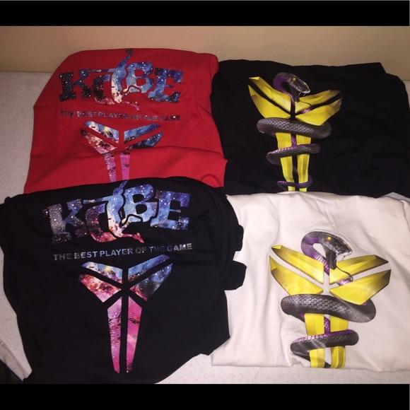 buy popular ca179 06800 NEW Kobe Bryant T-Shirt  24 Lakers GOAT Mamba